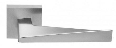 Frascio 720/50Q/SCP Sweep Door Handle On Square Rose Satin Chrome